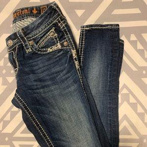 "Rock Revival ""Elaina"" Skinny Jeans"